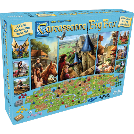 Carcassonne Big Box 6 (2017 English Edition)