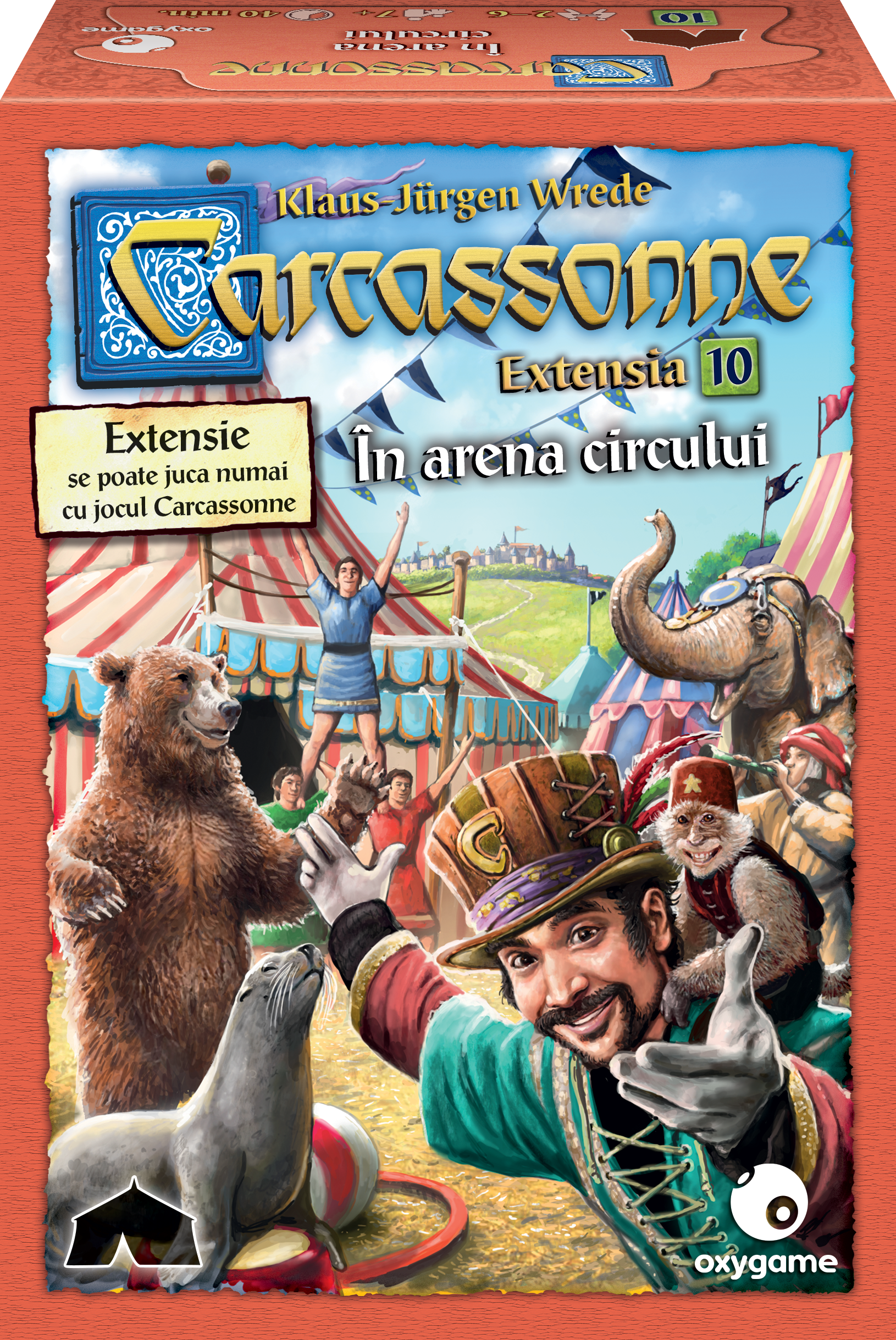 Carcassonne Extensia 10: Under the Big Top