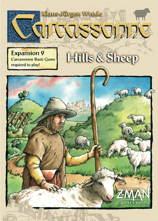 Carcassonne Extensia 9: Hills & Sheep