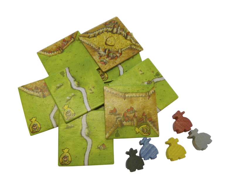 Carcassonne Mini Expansion 6: The Robbers