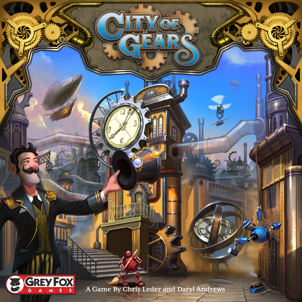 City of Gears (2018 Kickstarter Founders Edition)