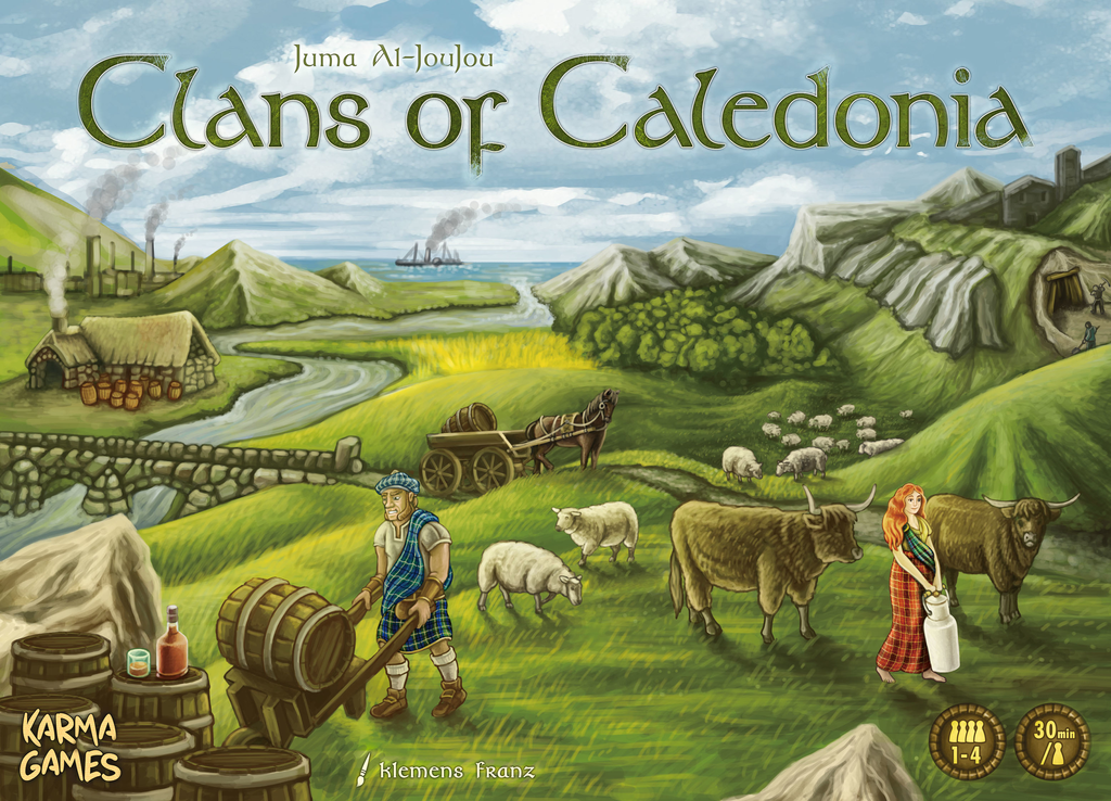 Clans of Caledonia (Kickstarter Deluxe Edition)