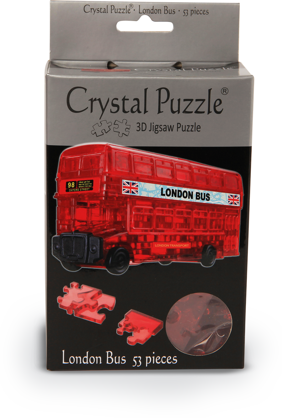 Crystal Puzzle: London Bus