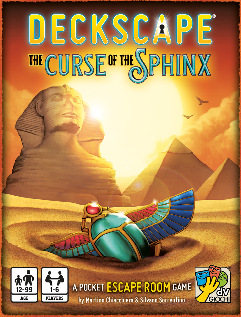 Deckscape: The Curse of the Sphinx