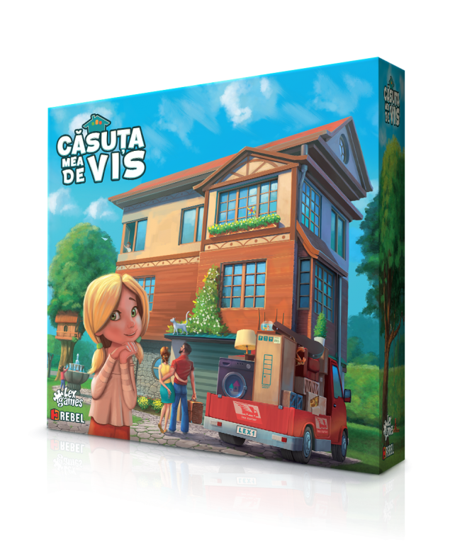 Casuta mea de vis + Dream Home: Promo Token – Car
