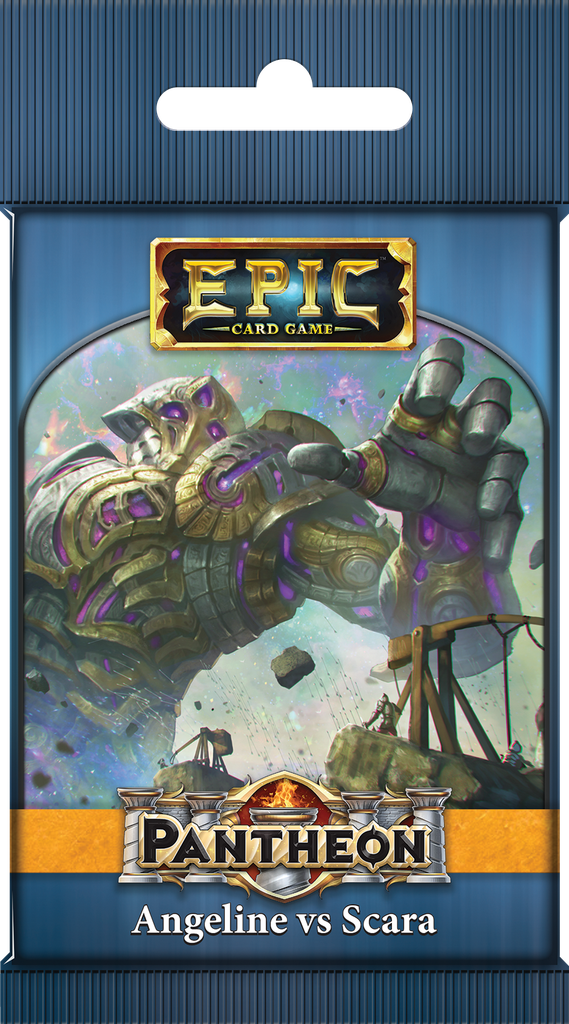 Epic Card Game: Pantheon – Angeline vs Scara