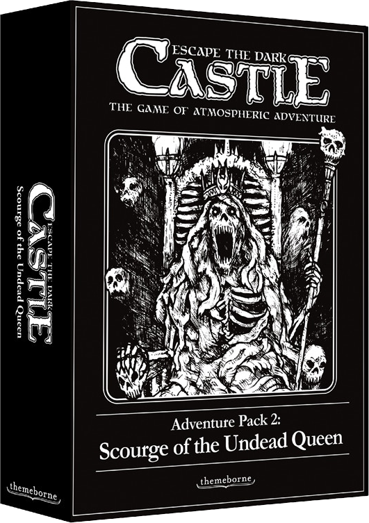 Escape the Dark Castle:Adv Pack 2: Scourge of the Undead Queen