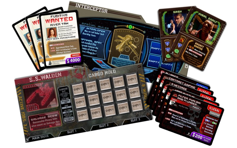 Firefly: The Game – Pirates & Bounty Hunters - Click pe Imagine pentru a Inchide