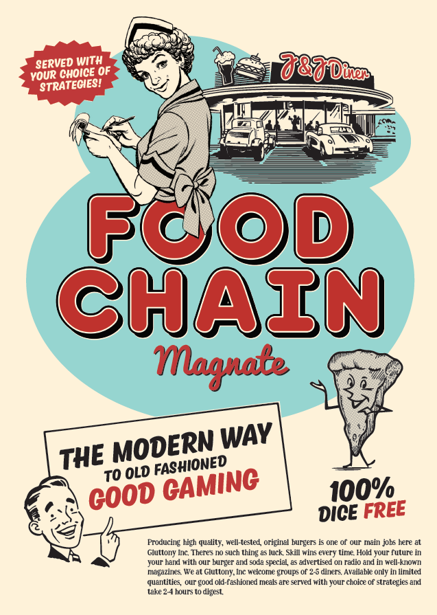 Food Chain Magnate (2016 First Edition , 7th Printing)