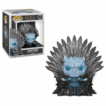 Funko POP! Deluxe GOT S10 - Night King Sitting on Throne