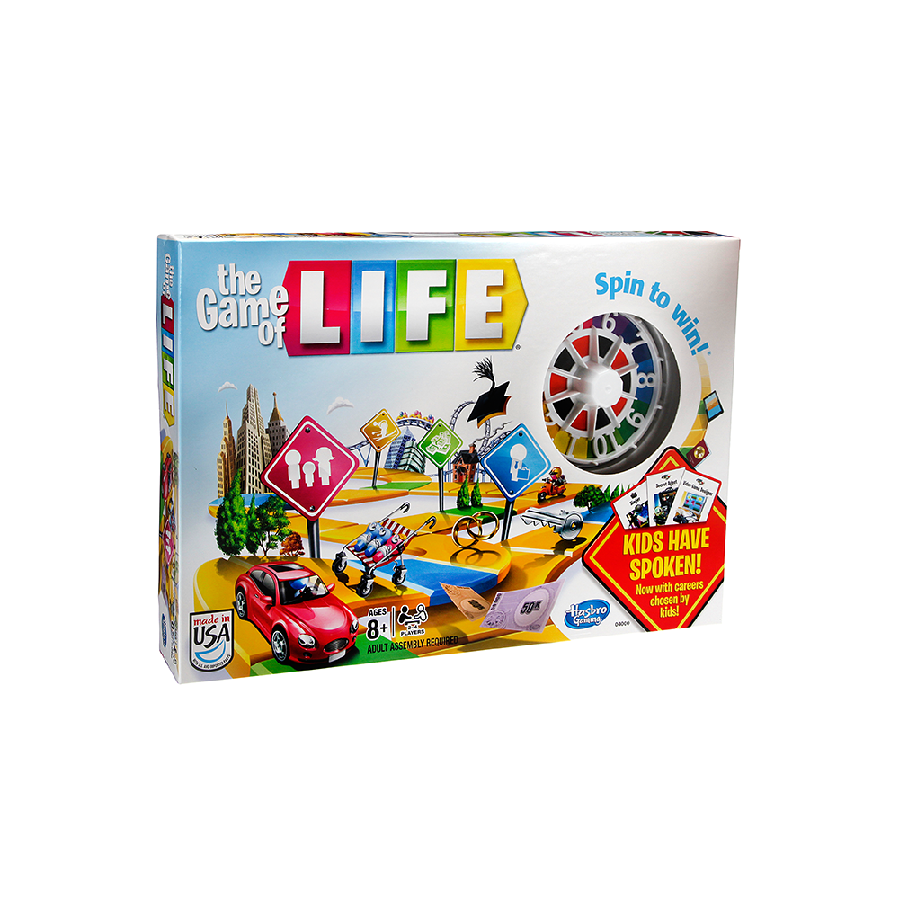 the game of life hasbro