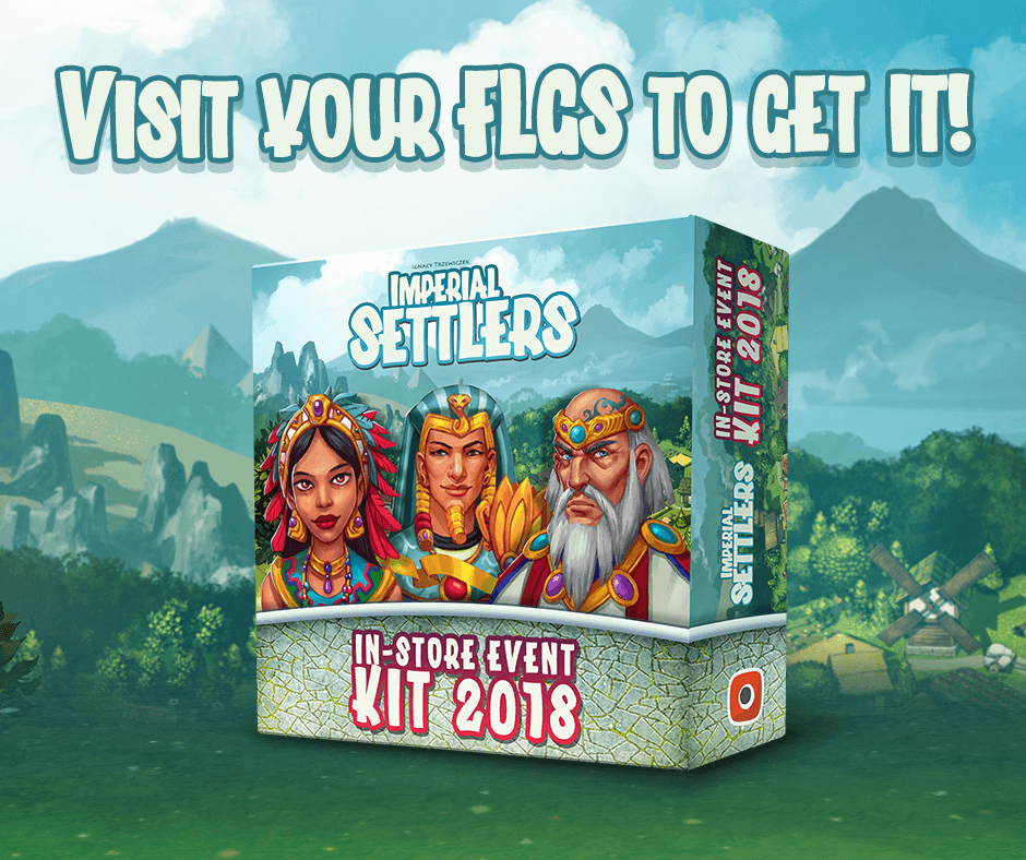 Imperial Settlers: Event Kit 2018