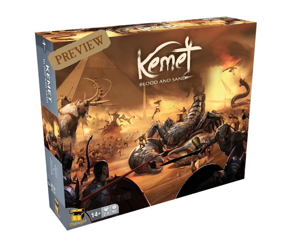 Kemet: Blood and Sand (Kickstarter God Pledge)
