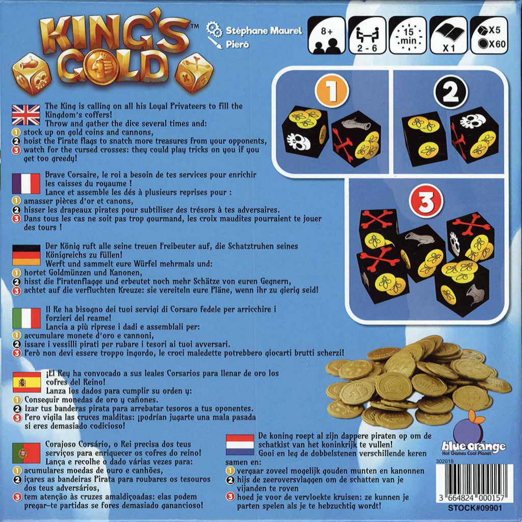 King's Gold (Multilingual Edition)