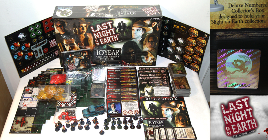 Last Night on Earth: The Zombie Game:10 Year Anniversary Edition