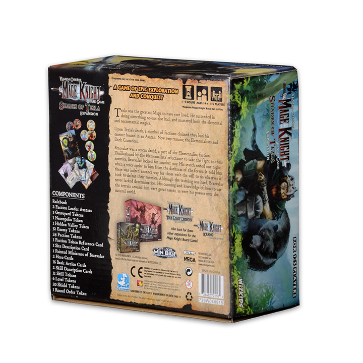 Mage Knight Board Game: Shades of Tezla Expansion - Click pe Imagine pentru a Inchide