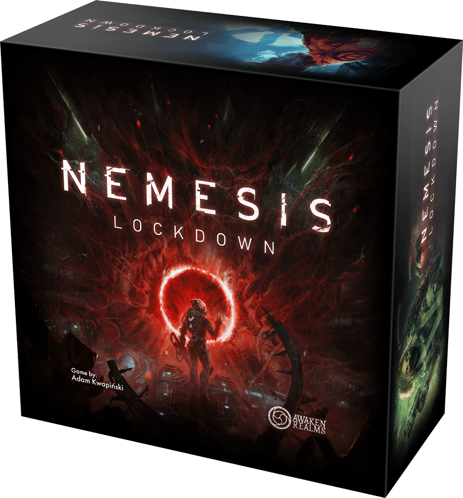 Nemesis: Lockdown (2021 Kickstarter Lockdown All In Sundrop)