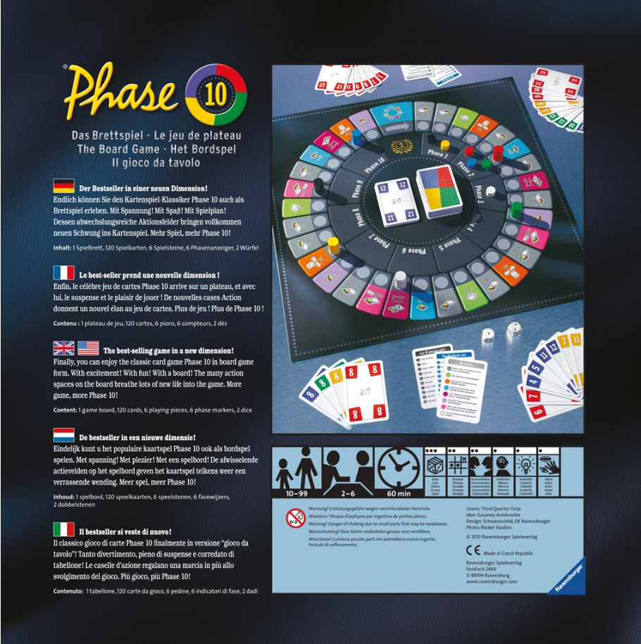 phase 10 dice instructions