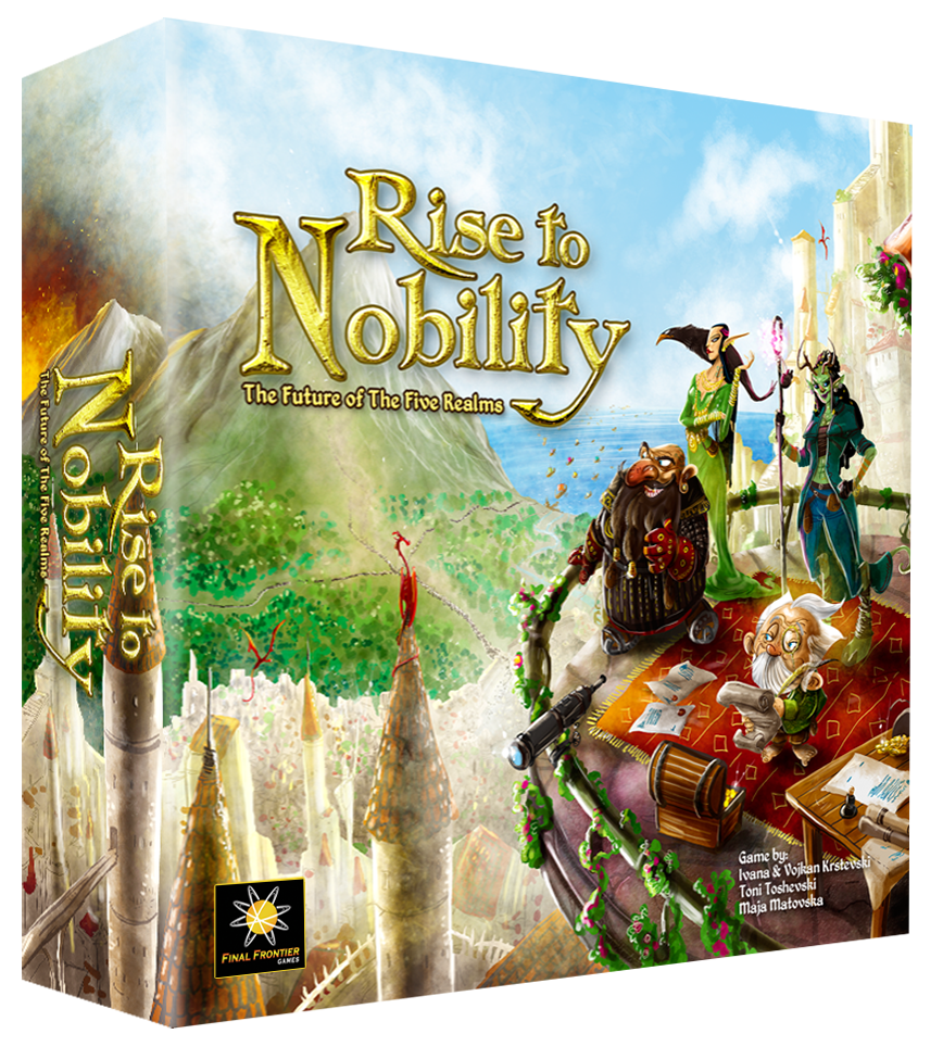 Rise to Nobility Deluxe Kickstarter Edition