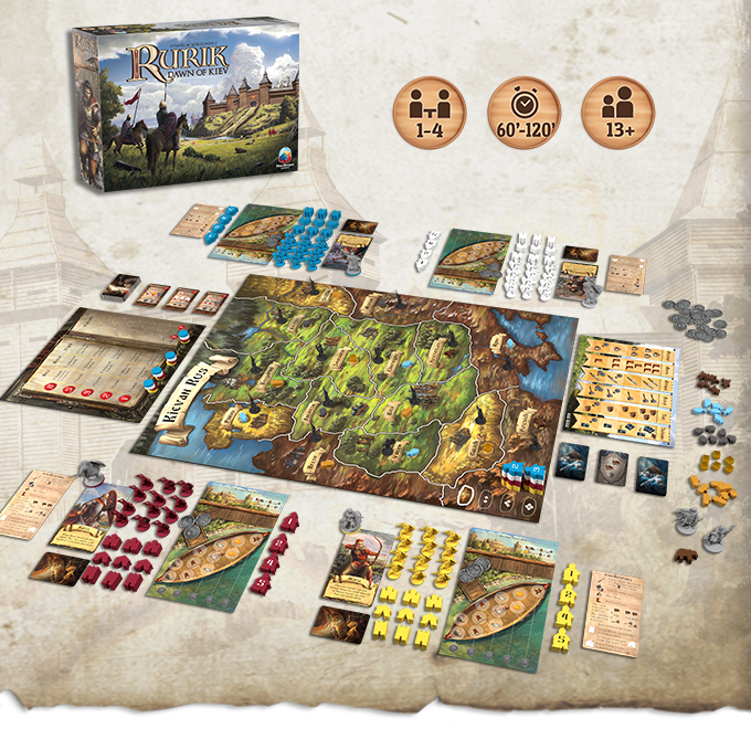 Rurik: Dawn of Kiev (Kickstarter Deluxe Edition)
