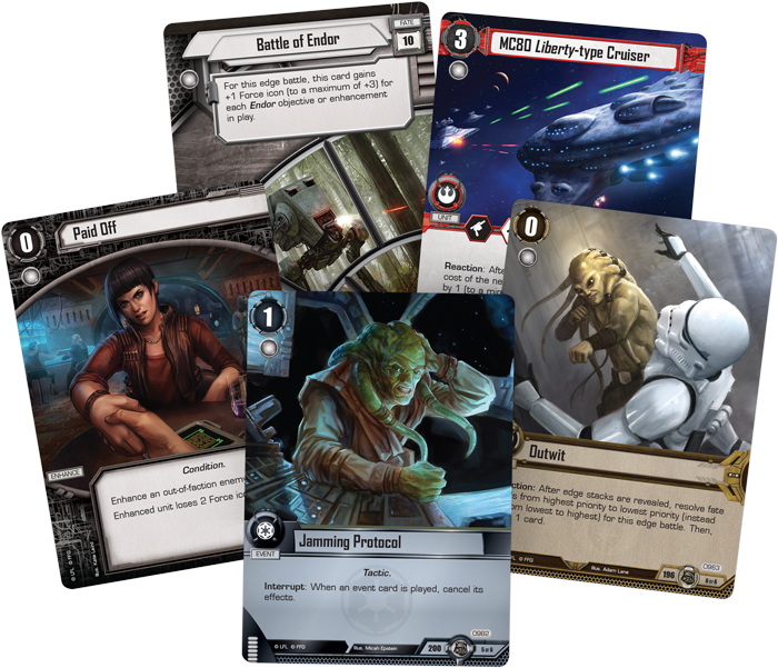 Star Wars: The Card Game – The Forest Moon
