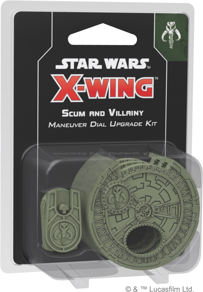 Scum and Villainy Maneuver Dial Upgrade Kit