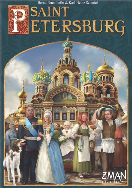 Saint Petersburg (2014 German Second Edition)