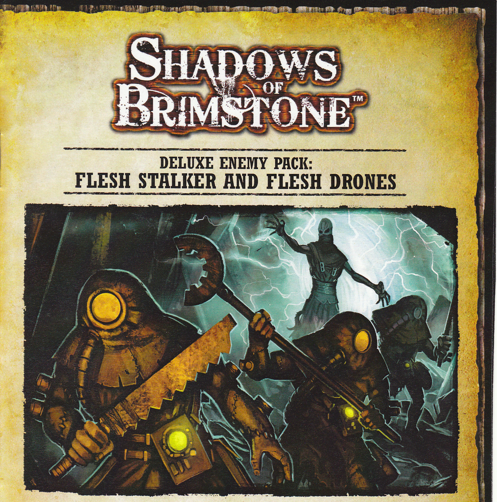 Shadows of Brimstone: Flesh Stalker & Flesh Drones Deluxe Enemy
