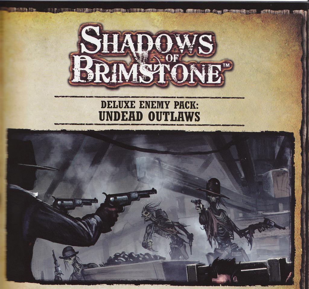 Shadows of Brimstone: Undead Outlaws Deluxe Enemy Pack