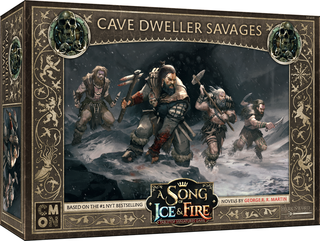 A Song of Ice & Fire: Tabletop Game – Cave Dweller Savages