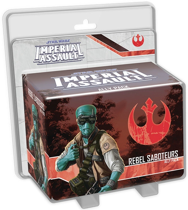 Star Wars: Imperial Assault – Rebel Saboteurs Ally Pack - Click pe Imagine pentru a Inchide