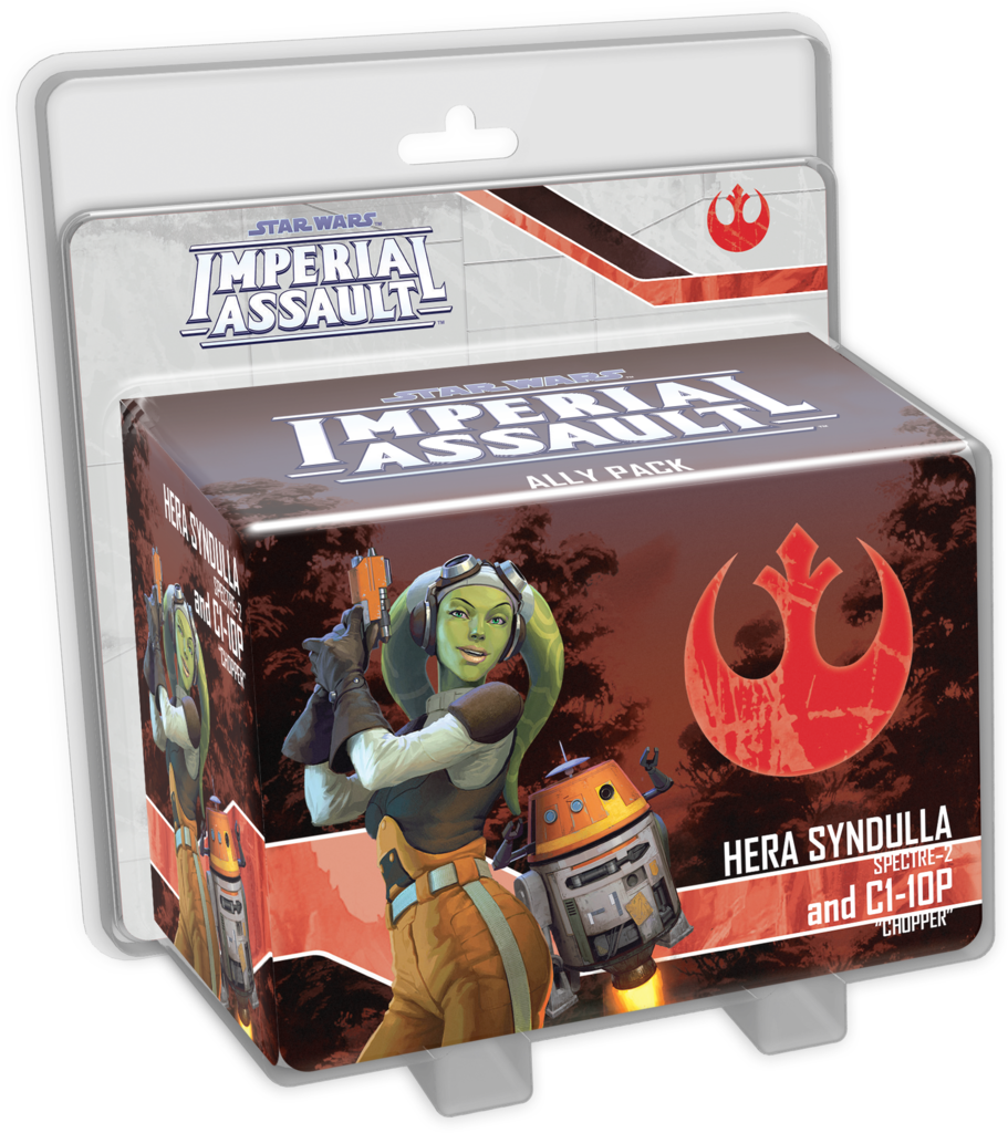 Star Wars: Imperial Assault – Hera Syndulla and C1-10P Ally Pac