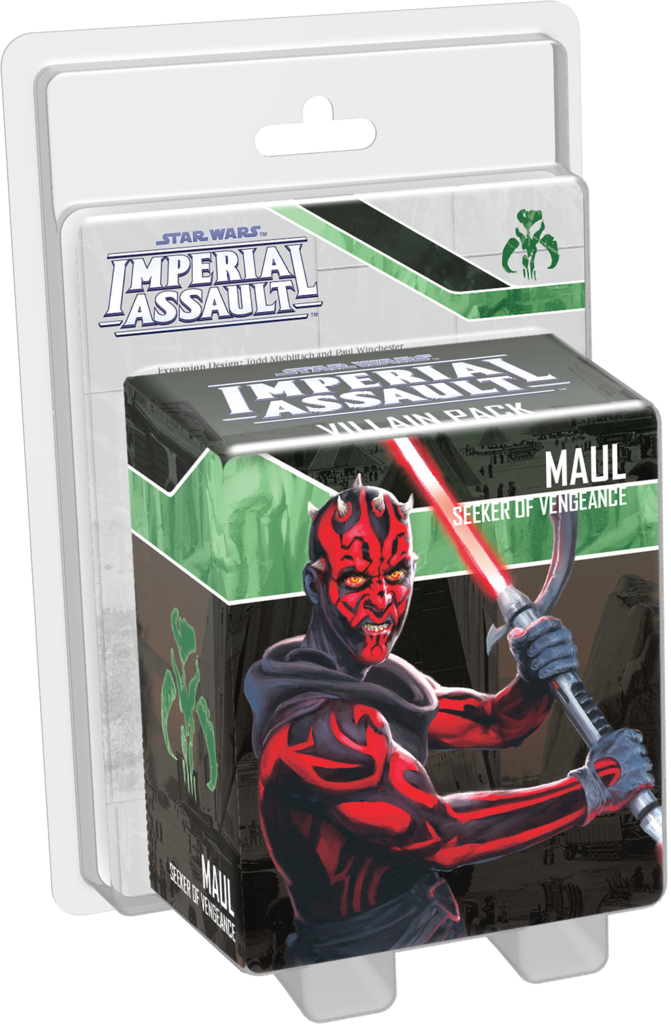 Star Wars: Imperial Assault – Maul Villain Pack