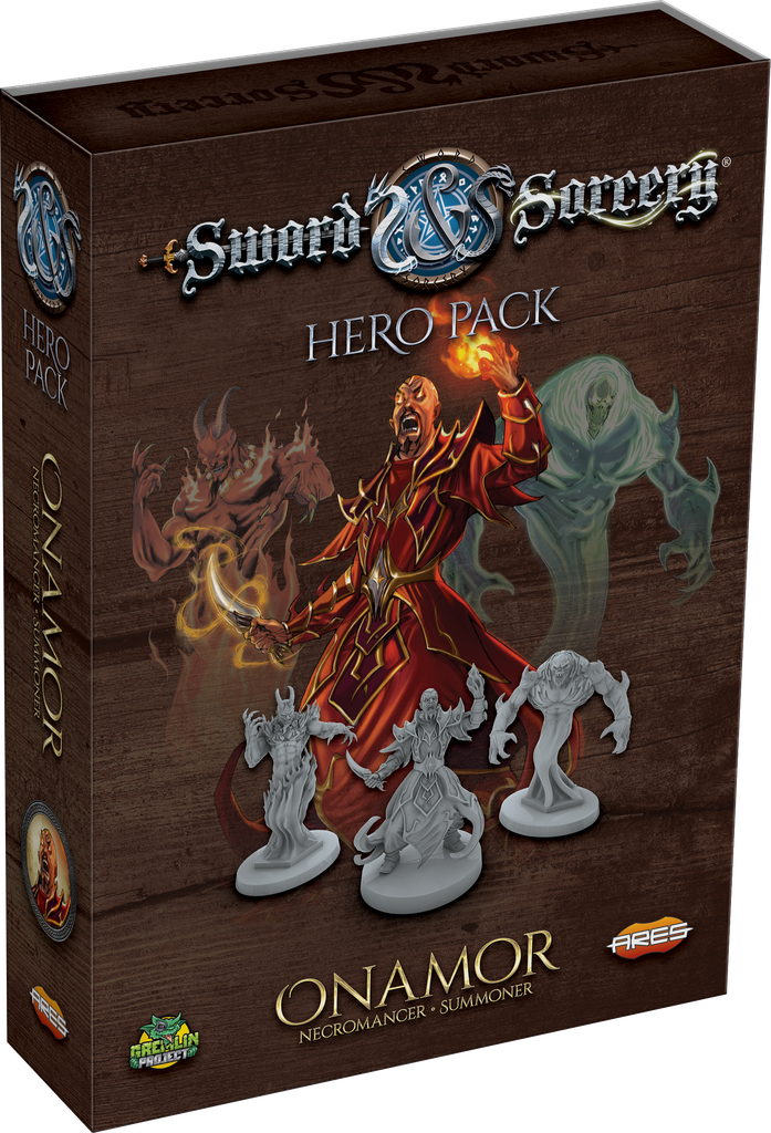 Sword & Sorcery: Hero Pack – Onamor the Necromancer/Summoner