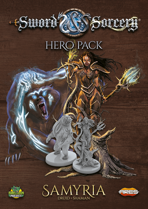 Sword & Sorcery: Hero Pack – Samyria the Druid/Shaman