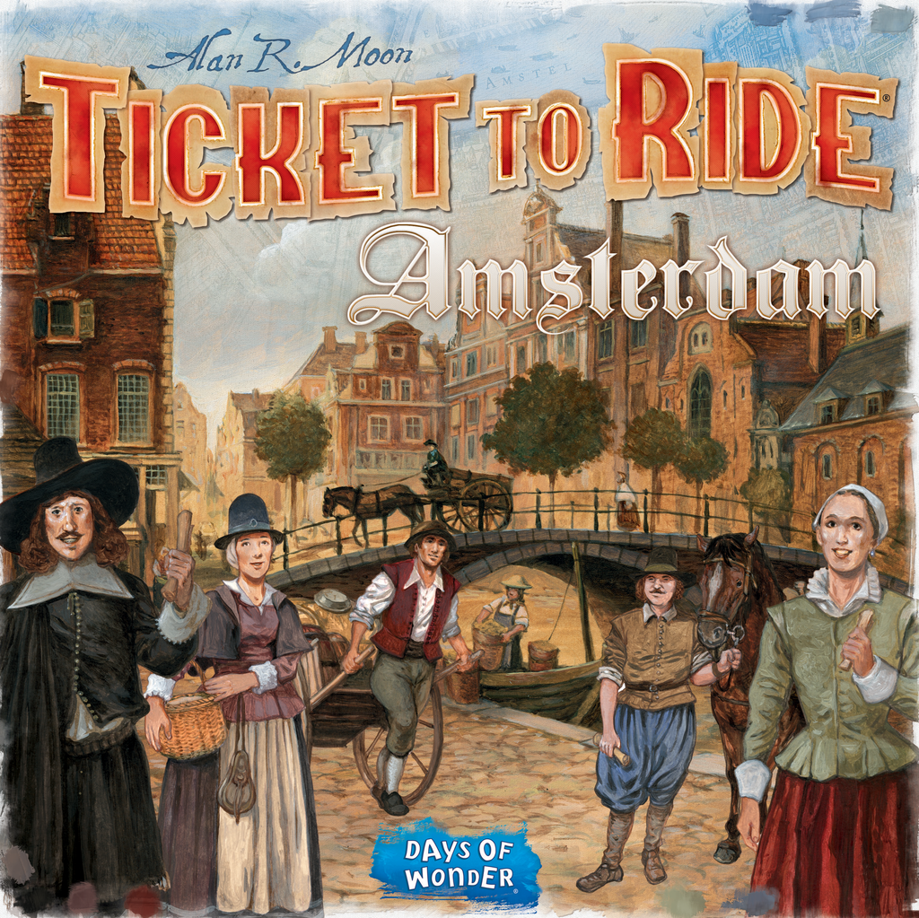 Ticket to Ride: Amsterdam (English Edition)