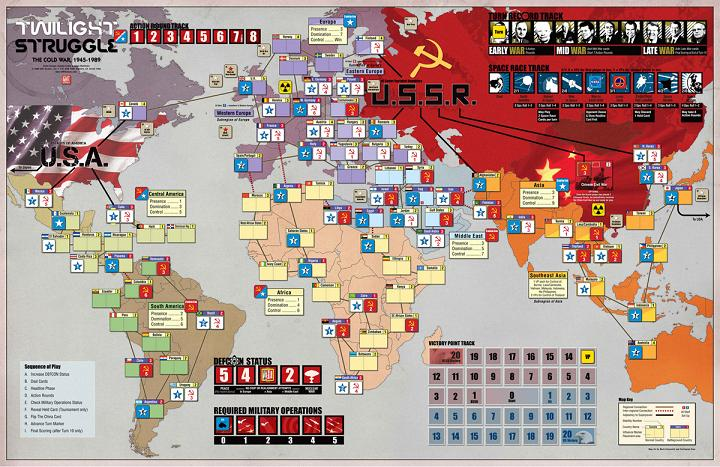 Twilight Struggle: Deluxe Edition (2015 English Edition) - Click pe Imagine pentru a Inchide