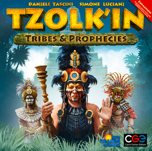 Tzolkin: The Mayan Calendar: Tribes & Prophecies