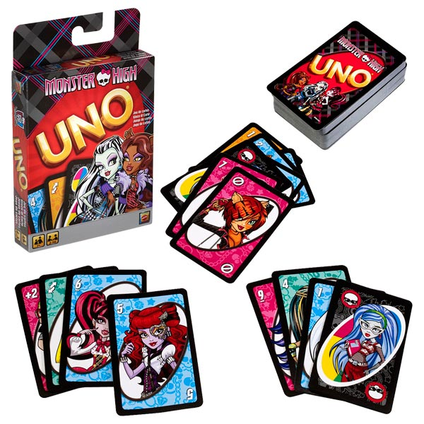 UNO Monster High - Click pe Imagine pentru a Inchide