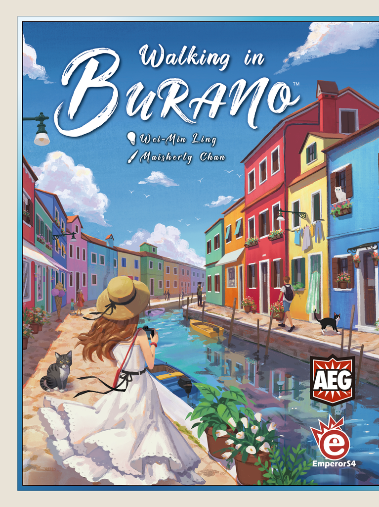 Walking in Burano (mini expansion 1 included)