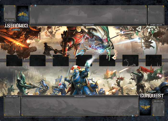 Warhammer 40,000: Conquest - Unending War Two-Player Playmat