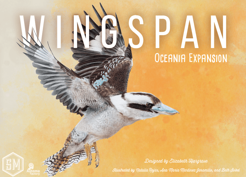 Wingspan: Oceania Expansion (English Edition)
