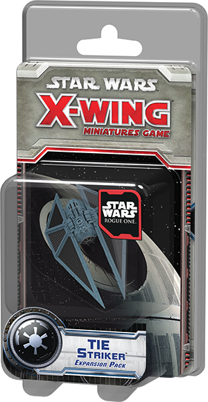 Star Wars: X-Wing Miniatures Game – TIE Striker Expansion Pack