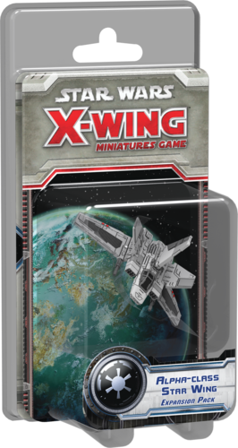 Star Wars: X-Wing Miniatures Game – Alpha-Class Star Wing