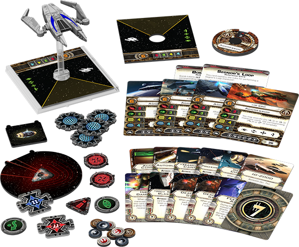 Star Wars: X-Wing Miniatures Game – IG-2000 Expansion