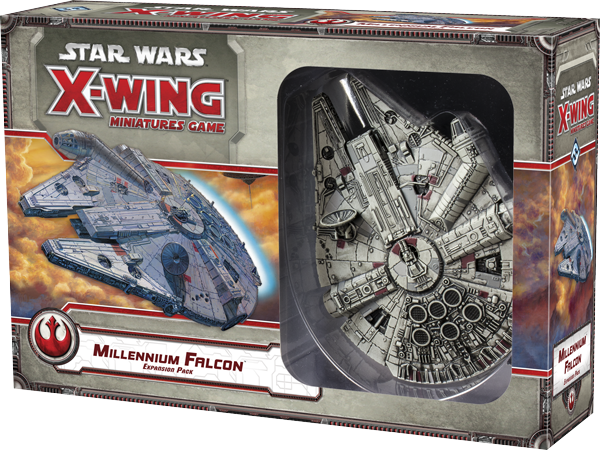 Star Wars: X-Wing Miniatures Game – Millennium Falcon Expansion
