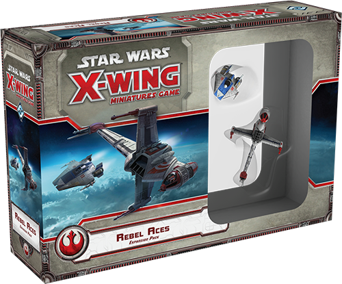 Star Wars: X-Wing Miniatures Game – Rebel Aces Expansion Pack