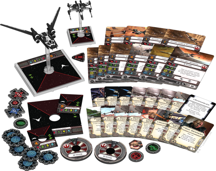Star Wars: X-Wing Miniatures Game – Saw's Renegades Expansion