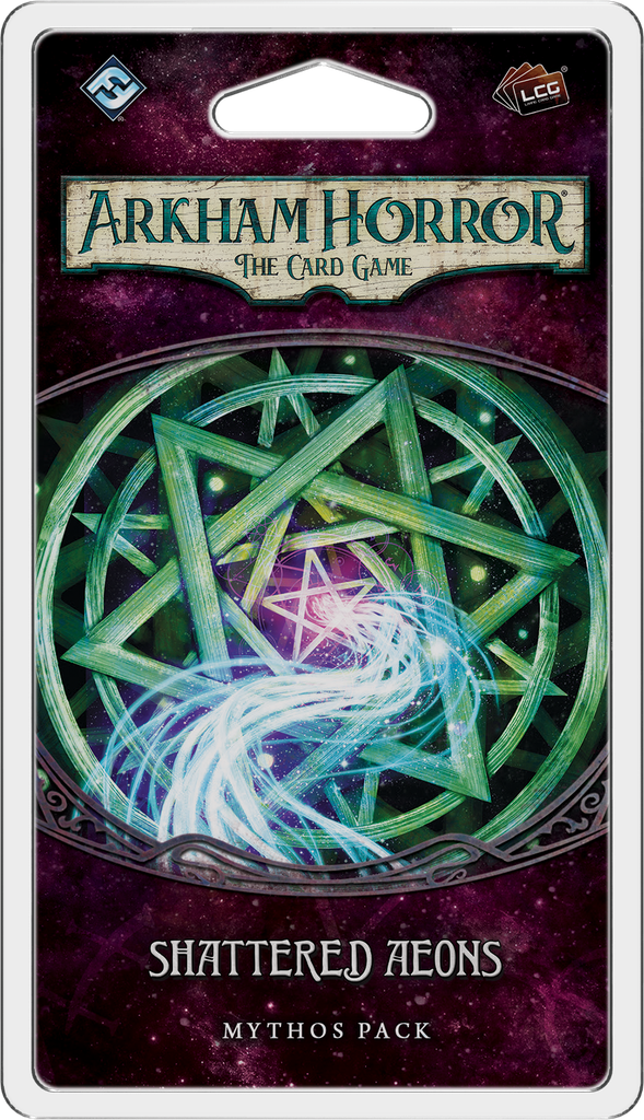 Arkham Horror: The Card Game: Shattered Aeons Mythos Pack