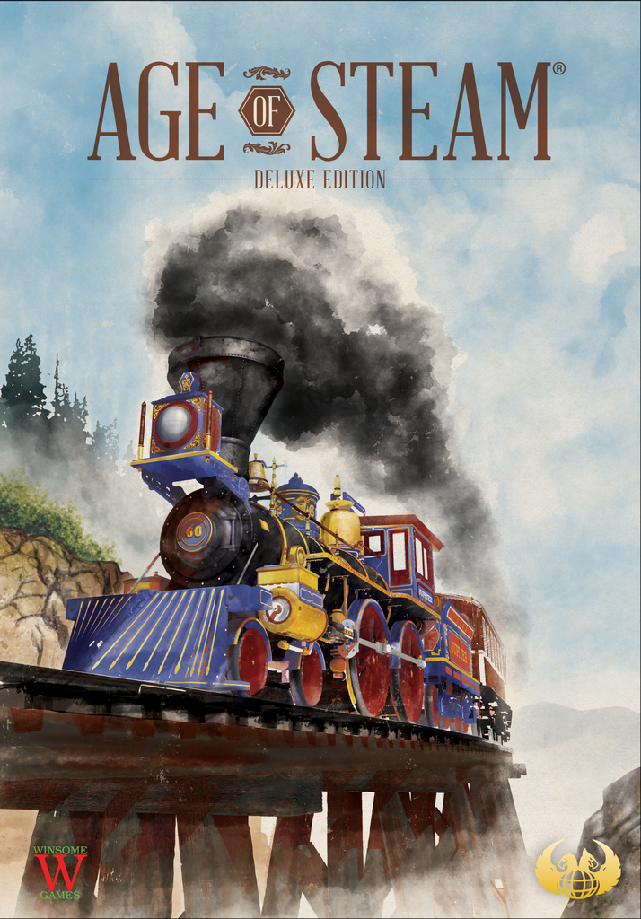 Age of Steam Deluxe Edition (Kickstarter Conductor Pledge)